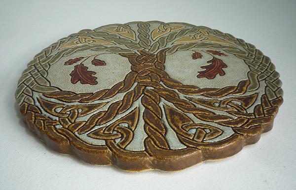 Tree Of Life Oak Knot Tile