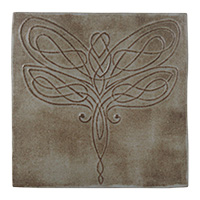 Dragonfly Knot Tile