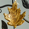 Oak leaf ornament - Autumn leaf ornaments
