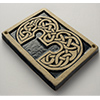Celtic knot house number tile 3