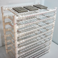 PVC Greenware Drying Rack
