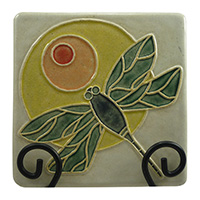 Dragonfly with Sun Tile - cuenca