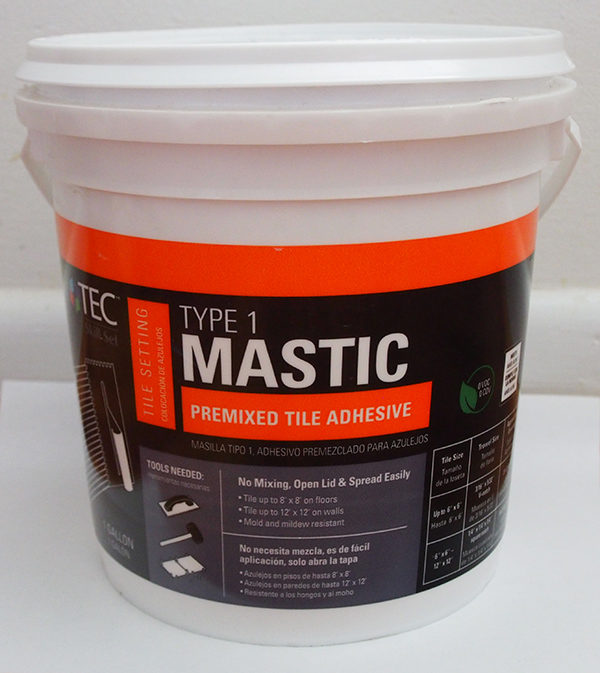 premixed tile adhesive