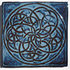 Celtic Knot Ceramic Tile - Don't Quit Your Day Job
