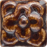 Honeycomb Flower Ceramic Tile - high relief (1x1)