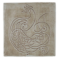 Peacock Knot Tile