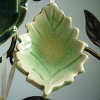 Beech Leaf Ornament