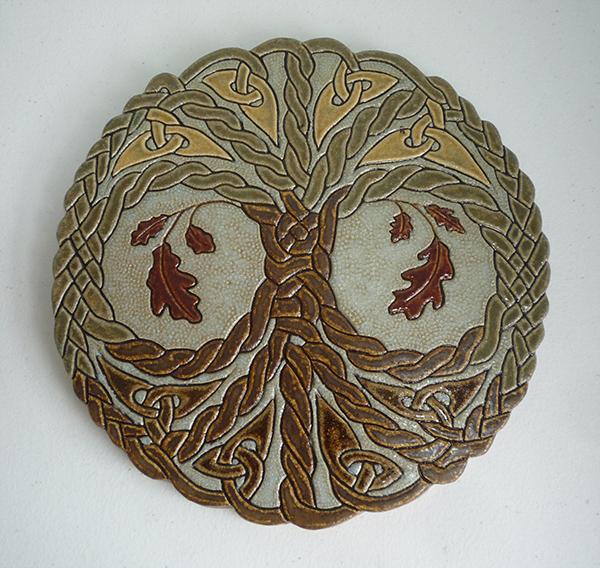 Tree Of Life Oak Knot Tile